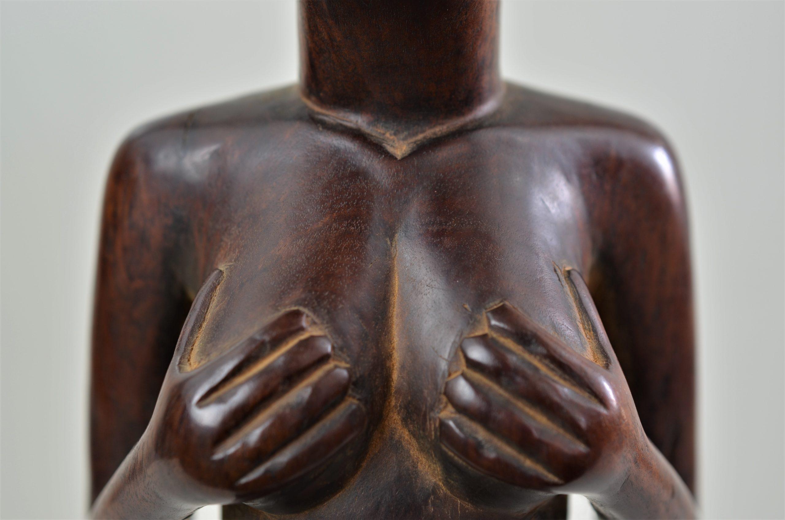 Chokwe statue féminine 9