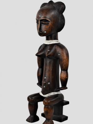 Statue Féminine Attié, Côte d'ivoire