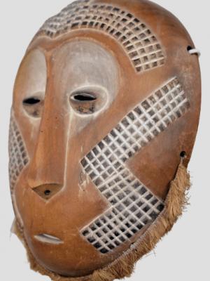 Masque Lega, République Démocratique du Congo