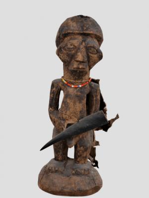 Statue Tetela, République Démocratique du Congo