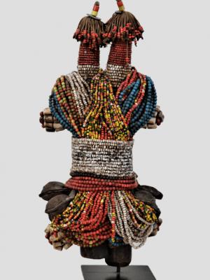 Poupée Fali à deux Têtes, Cameroun