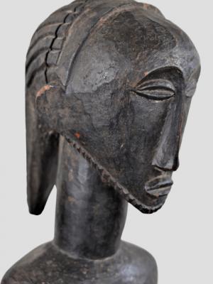 Statue d'Ancêtre Masculin Luba/Hemba, République Démocratique du Congo