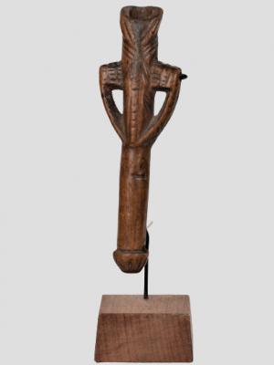 Flûte/sifflet Anthropomorphe Bwa/Mossi, Burkina Faso