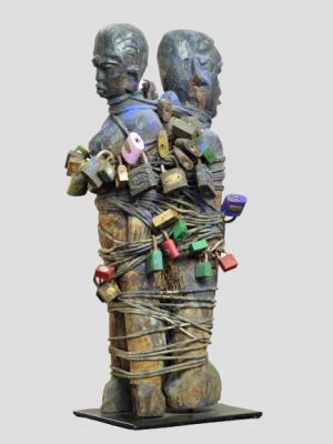 Ewe fétiche couple, Togo