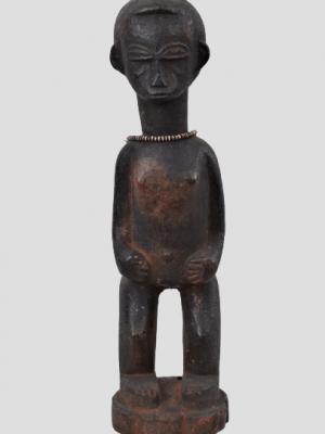 Statuette féminine Baoulé, Côte d'Ivoire